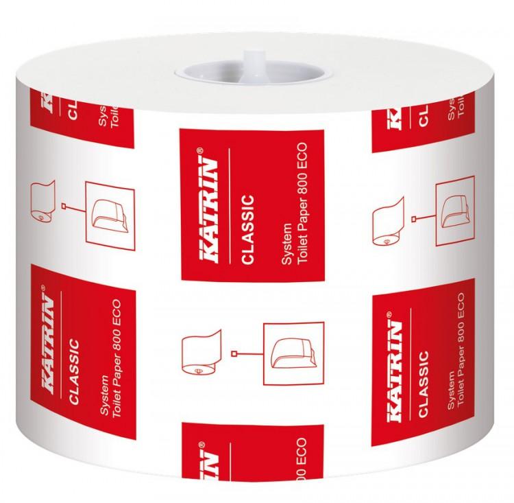 TP Katrin Classic System Toilet Eco | Papírové a hygienické výrobky - Toaletní papíry - Vícevrstvý