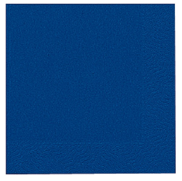 Ubrousek 33x33 3V Modré 20ks | Duni - Ubrousky, kapsy na příbory - 3 vrstvé ubrousky