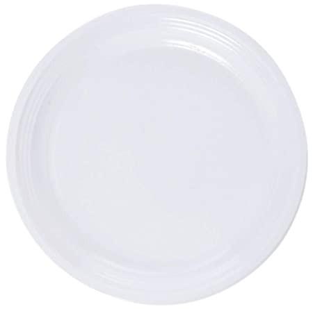 Talíř plast 22cm bílý 20ks | Duni - Rautové nádobí - Párty nádobí