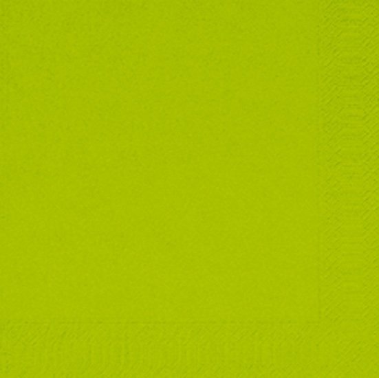 Ubrousek 33x33 2V Kiwi 125ks | Duni - Ubrousky, kapsy na příbory - 2 vrstvé ubrousky