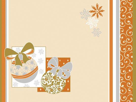 Prostírka 30x40 Christmas Charme 100ks | Duni - Ubrusy, šerpy, prostírky - Prostírky & podložky dortové