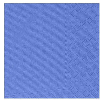 Ubrousek 33x33 3V sv. modrý 250ks | Duni - Ubrousky, kapsy na příbory - 3 vrstvé ubrousky