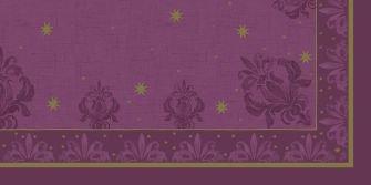Ubrus 84x84 DCel Farah fialový neomyvat. | Duni - Ubrusy, šerpy, prostírky - Neomyvatelný ubrus