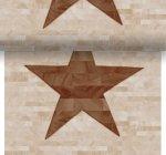 Téte-a-Téte 0,4x24m Wood Star | Duni - Ubrusy, šerpy, prostírky - Šerpy