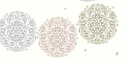 Ubrus 84x84 DCel Festive Mood White neo | Duni - Ubrusy, šerpy, prostírky - Neomyvatelný ubrus