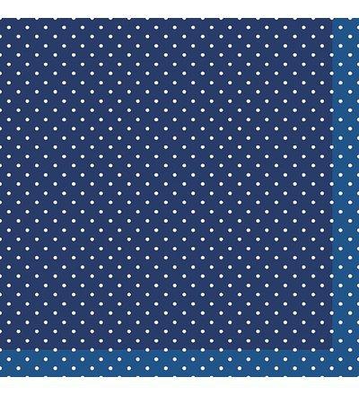 Ubrousek 33x33 3V Brook Blue | Duni - Ubrousky, kapsy na příbory - 3 vrstvé ubrousky