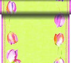 Téte-a-Téte 0,4x24m Pink Tulip | Duni - Ubrusy, šerpy, prostírky - Šerpy
