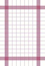 Ubrousek Towel 38x54cm červ. 250ks Retro | Duni - Ubrousky, kapsy na příbory - Dunilin 40x40
