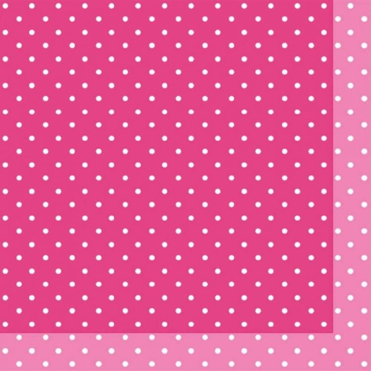 Ubrousek 33x33 3V Brook Pink 20ks | Duni - Ubrousky, kapsy na příbory - 3 vrstvé ubrousky