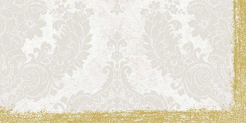 Ubrus 84x84 DSilk Royal White omyvatelný   Duni - Ubrusy, šerpy, prostírky - Omyvatelný ubrus