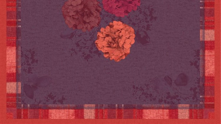 Ubrus 84x84 DSilk Endless Summer omyvat. | Duni - Ubrusy, šerpy, prostírky - Omyvatelný ubrus