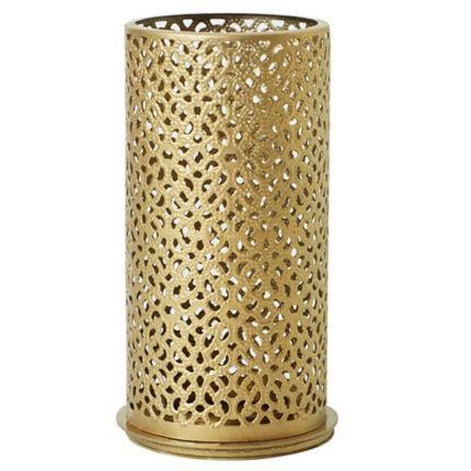 Svícen Bliss Gold  140x75mm | Duni - Svíčky, svícny, kroužky - svícny & kroužky