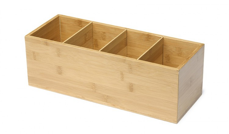 Zásobník na ubr Bambus Natural 36x14cm | Duni - Rautové nádobí - Amouse bouche
