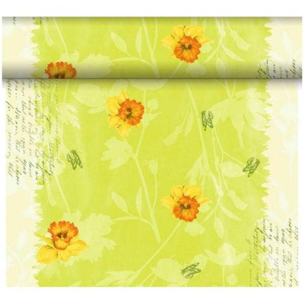 Téte-a-Téte 0,4x24m Spring Flowers | Duni - Ubrusy, šerpy, prostírky - Šerpy