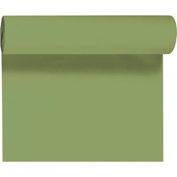 Téte-a Téte 0.4x24m Listově zelená   Duni - Ubrusy, šerpy, prostírky - Šerpy