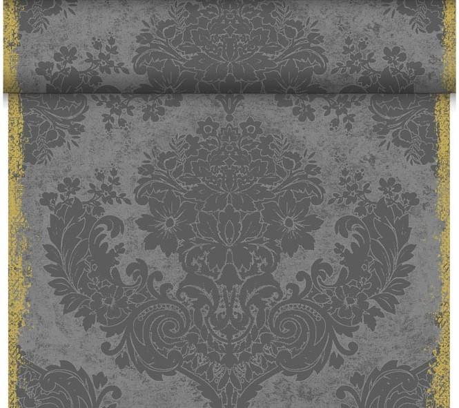 Téte-a-Téte 0,4x24m Royal Granite Grey   Duni - Ubrusy, šerpy, prostírky - Šerpy