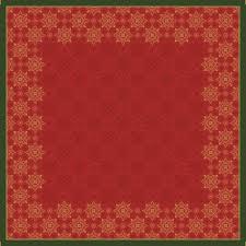 Ubrousek 33x33 3V Xmas Deco Red 50ks | Duni - Ubrousky, kapsy na příbory - 3 vrstvé ubrousky