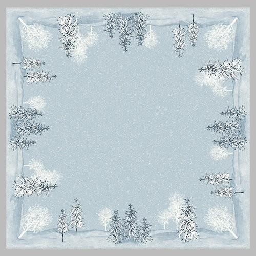 Ubrus 84x84 DCel Winter Mornings neomyv | Duni - Ubrusy, šerpy, prostírky - Neomyvatelný ubrus