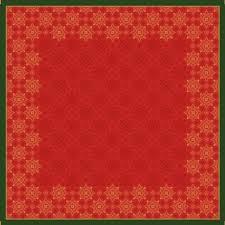 Ubrus 84x84 DCel Xmas Deco Red neo | Duni - Ubrusy, šerpy, prostírky - Neomyvatelný ubrus