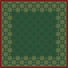 Ubrus 84x84 DCel Xmas deco green neo | Duni - Ubrusy, šerpy, prostírky - Neomyvatelný ubrus