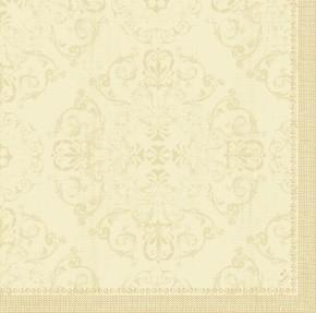 ubrousek 40x40Dlin Opulent Creme 45ks | Duni - Ubrousky, kapsy na příbory - Dunilin 40x40