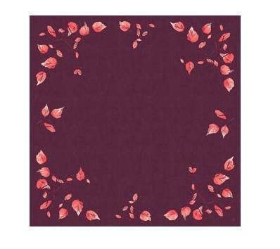 Ubrus 84x84 DSilk Painted Fall omyvatel | Duni - Ubrusy, šerpy, prostírky - Omyvatelný ubrus