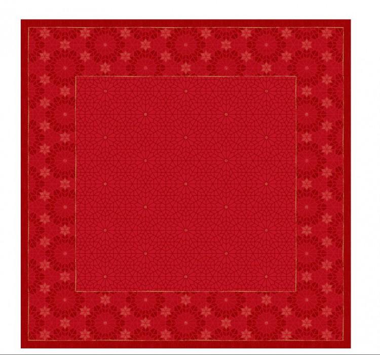 Ubrus 84x84 Dsilk  All Stars | Duni - Ubrusy, šerpy, prostírky - Omyvatelný ubrus