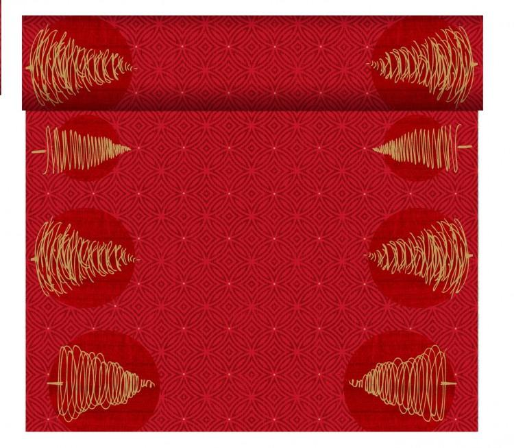 Tete-a-Tete 0,4x24m Elegant Tress | Duni - Ubrusy, šerpy, prostírky - Šerpy