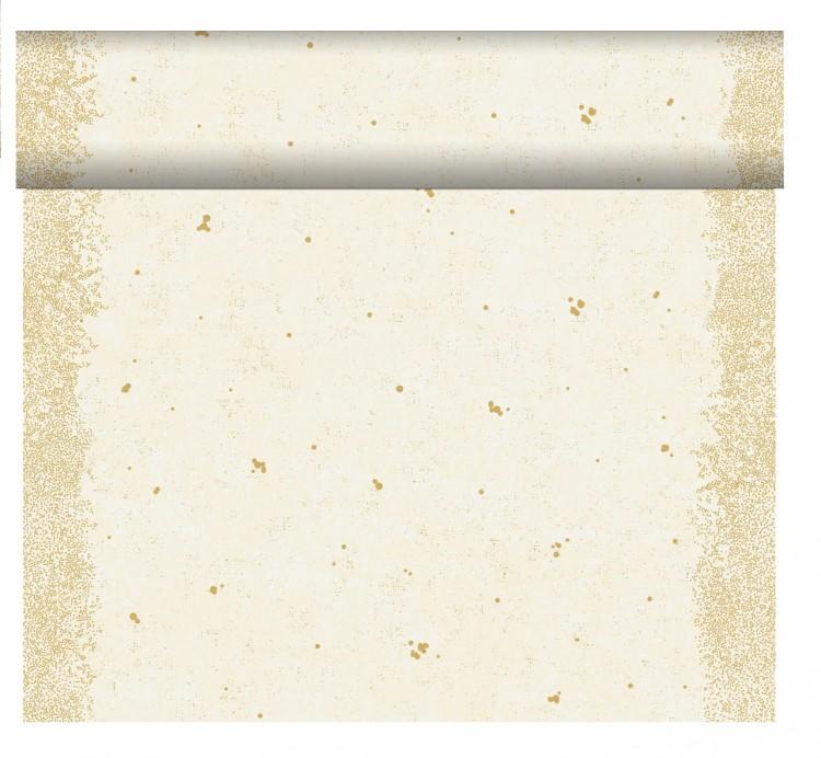 Téte-a-Téte 0,4x24m Celebrate White   Duni - Ubrusy, šerpy, prostírky - Šerpy