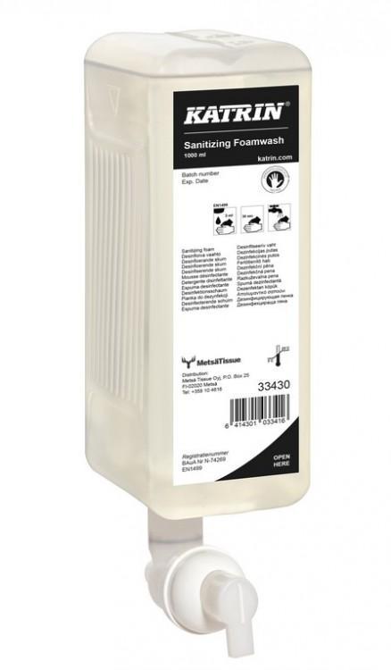 Tek. mýdlo pěnové antibakt. Katrin 1l | Toaletní mycí prostředky - Tekutá mýdla
