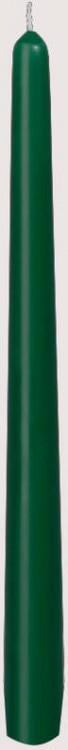 Svíčka 25cm Tmavě zelená 1ks | Duni - Svíčky, svícny, kroužky - Svíčky