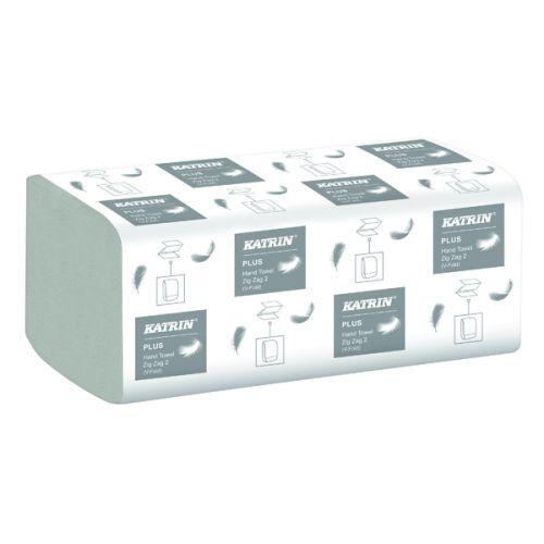 Pap. ruč. Katrin Z-Z 2V celulóza 4000ks   Papírové a hygienické výrobky - Utěrky a ručníky