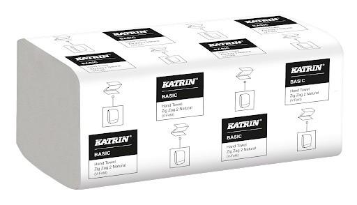 Katrin BASIC Z-Z 20x200=4000 Ks | Papírové a hygienické výrobky - Utěrky a ručníky