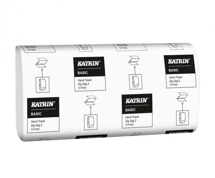 Katrin BASIC Z-Z 21x150=3150 Ks   Papírové a hygienické výrobky - Utěrky a ručníky