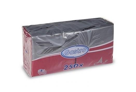 Ubrousek 33x33 3V bordo 250ks   Papírové a hygienické výrobky - Ubrousky - Vícevrstvé