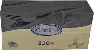 Ubrousek 33x33 3V vanilkové/béžové 250ks   Papírové a hygienické výrobky - Ubrousky - Vícevrstvé
